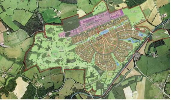 Dunsfold Park masterplan